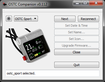 [OSTC Companion - Interface]